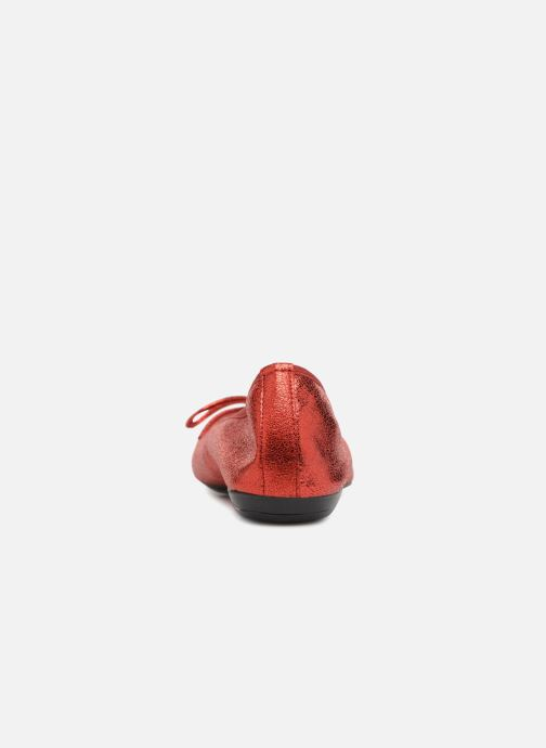 Ballet pumps Elizabeth Stuart YONIS 242 Red view from the right
