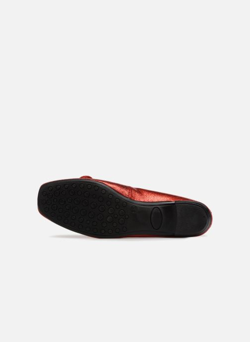 Ballet pumps Elizabeth Stuart YONIS 242 Red view from above