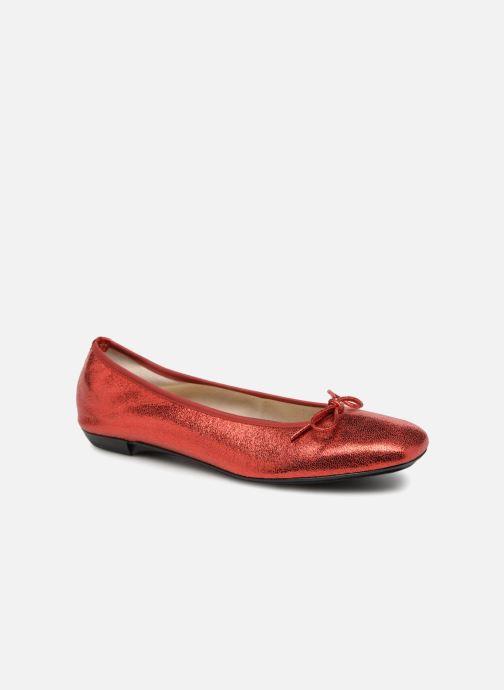 Ballerines Elizabeth Stuart YONIS 242 Rouge vue détail/paire