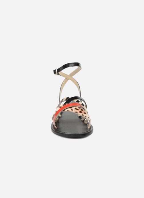 Sandales et nu-pieds Elizabeth Stuart HAG 841 Noir vue portées chaussures