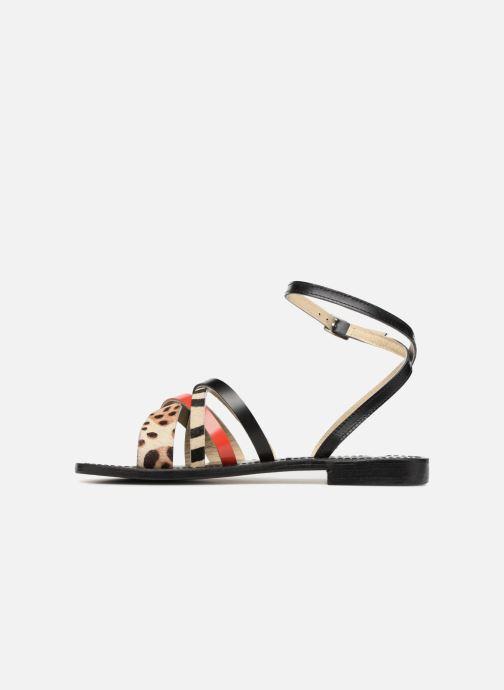 Sandales et nu-pieds Elizabeth Stuart HAG 841 Noir vue face