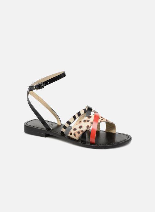 Sandales et nu-pieds Elizabeth Stuart HAG 841 Noir vue détail/paire