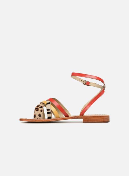 Sandales et nu-pieds Elizabeth Stuart HAG 841 Rouge vue face