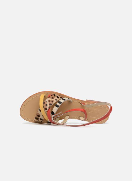 Sandales et nu-pieds Elizabeth Stuart HAG 841 Rouge vue gauche