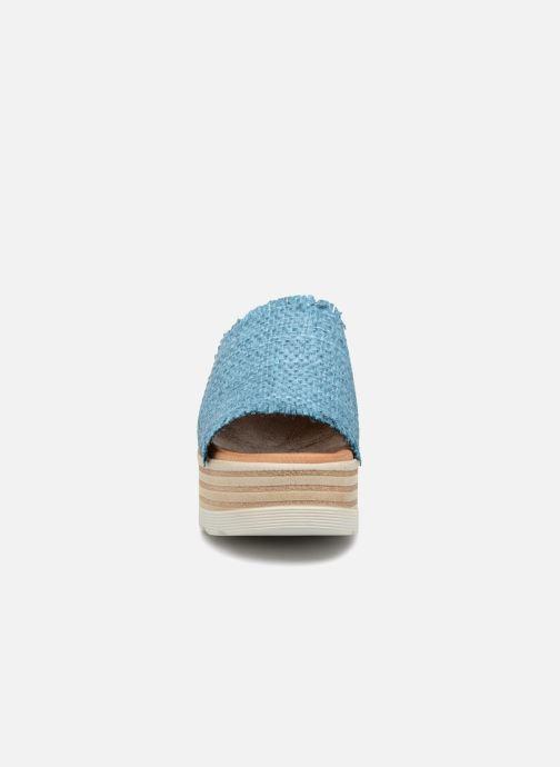 Mules et sabots Elizabeth Stuart Detroit 805 Bleu vue portées chaussures