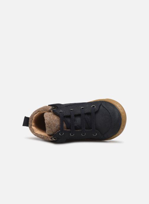 Bottines et boots Shoo Pom Bouba Zip Wool Bleu vue gauche
