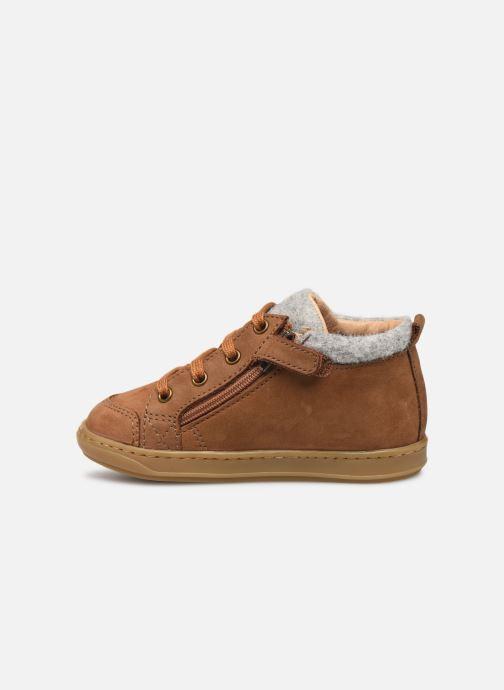 Bottines et boots Shoo Pom Bouba Zip Wool Marron vue face