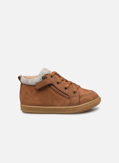 Bottines et boots Shoo Pom Bouba Zip Wool Marron vue derrière
