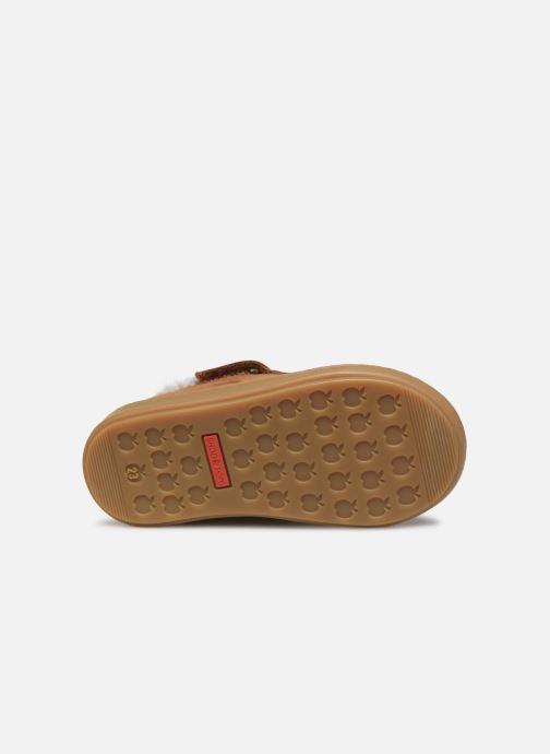 Bottines et boots Shoo Pom Bouba Zip Wool Marron vue haut