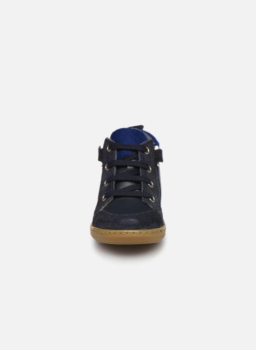 Stiefeletten & Boots Shoo Pom Bouba Zip Wool blau schuhe getragen