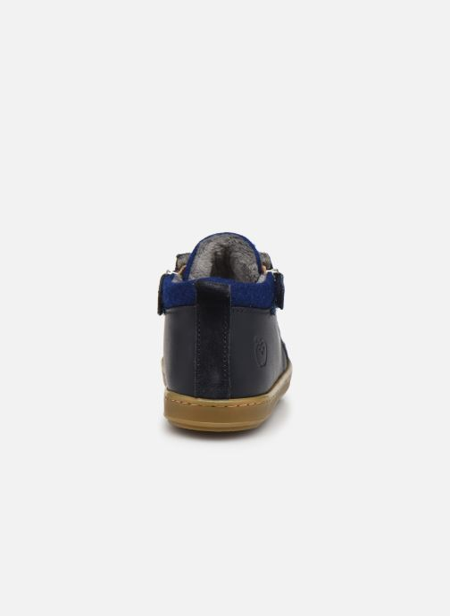 Stiefeletten & Boots Shoo Pom Bouba Zip Wool blau ansicht von rechts
