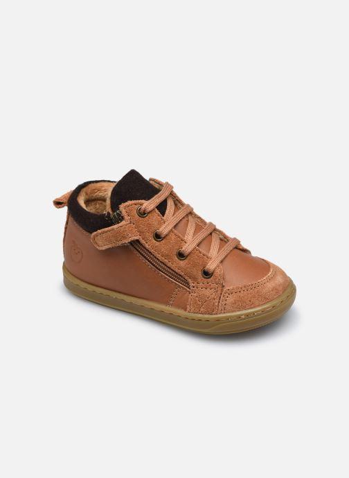 Stiefeletten & Boots Shoo Pom Bouba Zip Wool braun detaillierte ansicht/modell