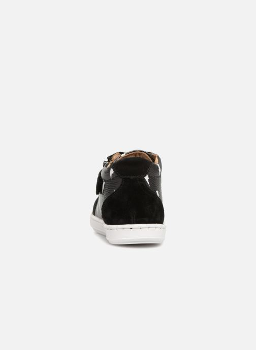 Ankle boots Shoo Pom Bouba Zip Box Thunder Black view from the right