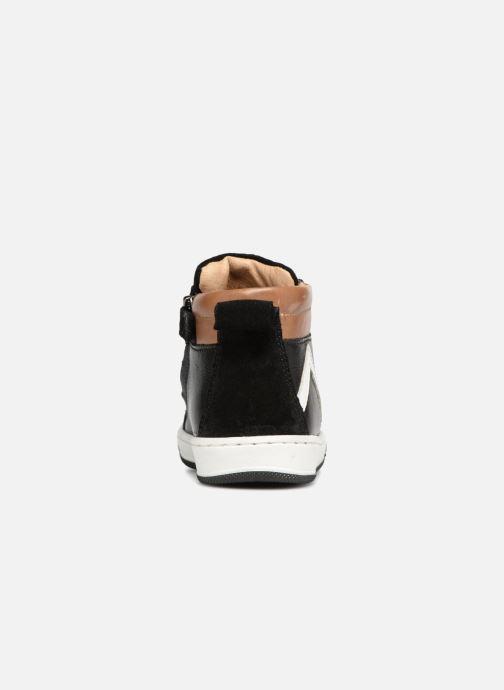 Bottines et boots Shoo Pom Dude Board Noir vue droite