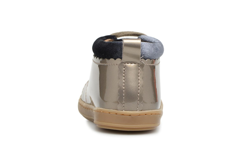 Bottines et boots Shoo Pom Bouba Croquet Gris vue droite