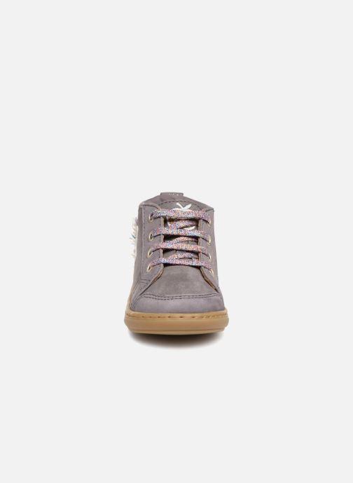 Stiefeletten & Boots Shoo Pom Bouba Licorne grau schuhe getragen