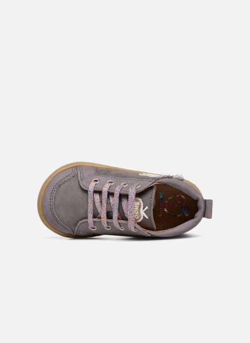 Stiefeletten & Boots Shoo Pom Bouba Licorne grau ansicht von links
