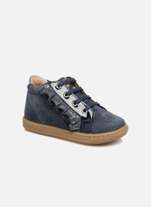 Ankle boots Shoo Pom Bouba Frifri Blue detailed view/ Pair view