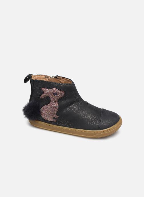 Bottines et boots Shoo Pom Bouba Pimpin Bleu vue détail/paire