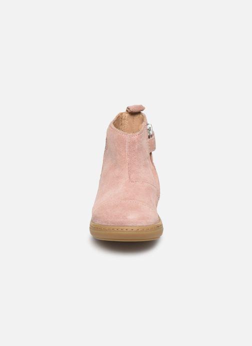 Bottines et boots Shoo Pom Bouba Pimpin Rose vue portées chaussures