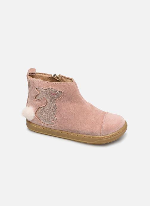 Bottines et boots Shoo Pom Bouba Pimpin Rose vue détail/paire