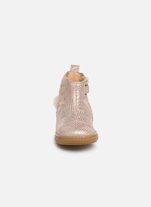 Stiefeletten & Boots Shoo Pom Bouba Pimpin rosa schuhe getragen