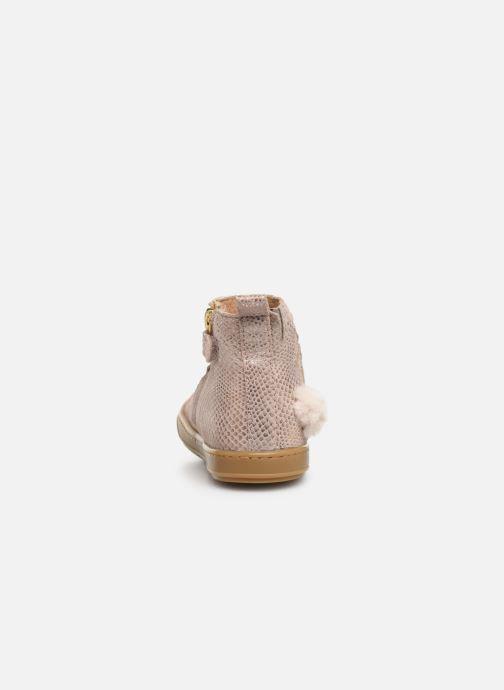 Bottines et boots Shoo Pom Bouba Pimpin Rose vue droite