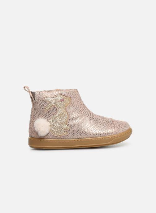 Bottines et boots Shoo Pom Bouba Pimpin Rose vue derrière