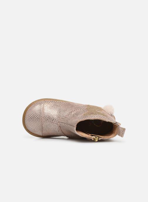 Bottines et boots Shoo Pom Bouba Pimpin Rose vue gauche