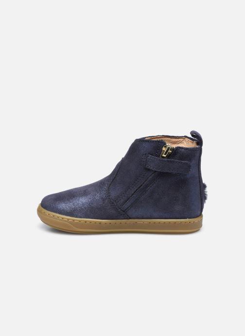 Bottines et boots Shoo Pom Bouba Pimpin Bleu vue face