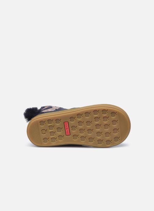 Bottines et boots Shoo Pom Bouba Pimpin Bleu vue haut