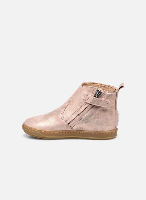 Bottines et boots Shoo Pom Bouba Pimpin Rose vue face