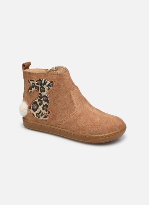 Bottines et boots Shoo Pom Bouba Pimpin Marron vue détail/paire