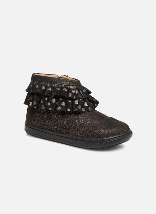 Ankelstøvler Shoo Pom Bouba Frou-Frou Sort detaljeret billede af skoene