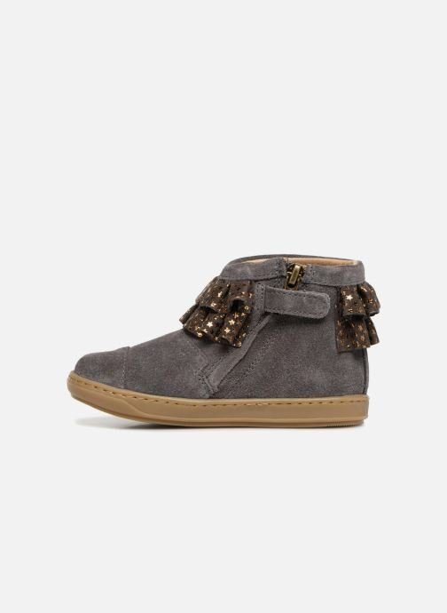 Ankle boots Shoo Pom Bouba Frou-Frou Grey front view