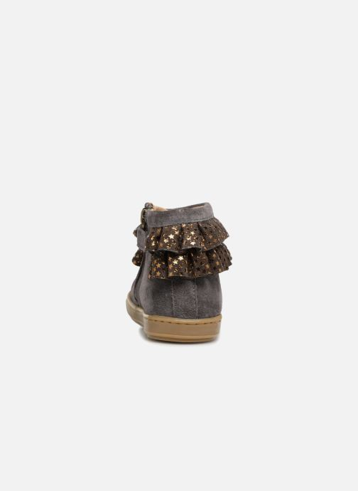 Ankle boots Shoo Pom Bouba Frou-Frou Grey view from the right