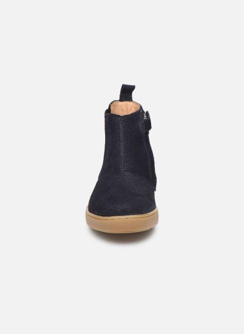 Ankelstøvler Shoo Pom Play Shine Elast Blå se skoene på