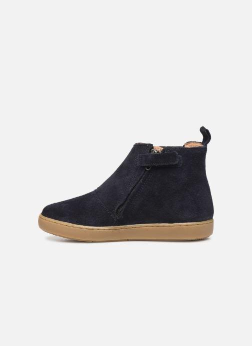 Bottines et boots Shoo Pom Play Shine Elast Bleu vue face