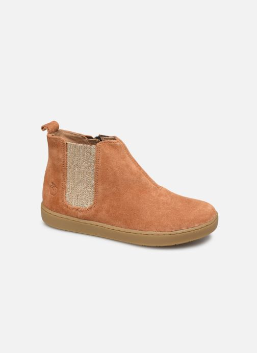 Ankle boots Shoo Pom Play Shine Elast Brown detailed view/ Pair view