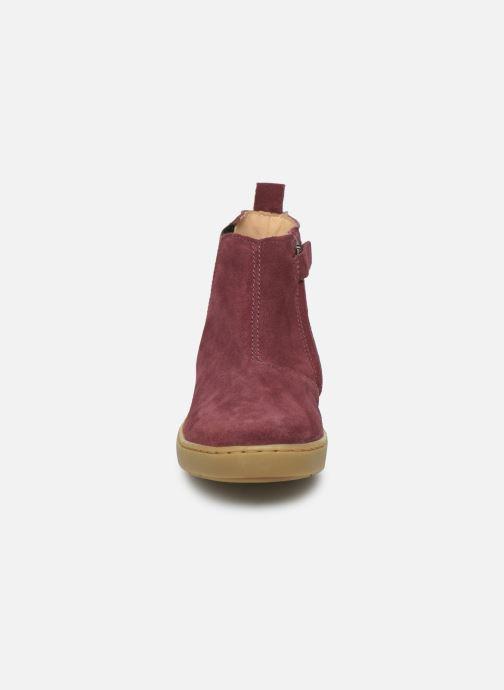 Bottines et boots Shoo Pom Play Shine Elast Rose vue portées chaussures