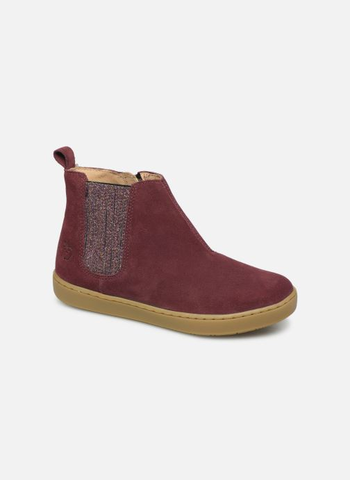 Bottines et boots Shoo Pom Play Shine Elast Rose vue détail/paire