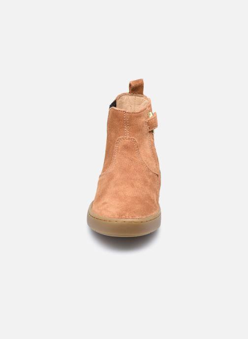 Bottines et boots Shoo Pom Play Shine Elast Marron vue portées chaussures