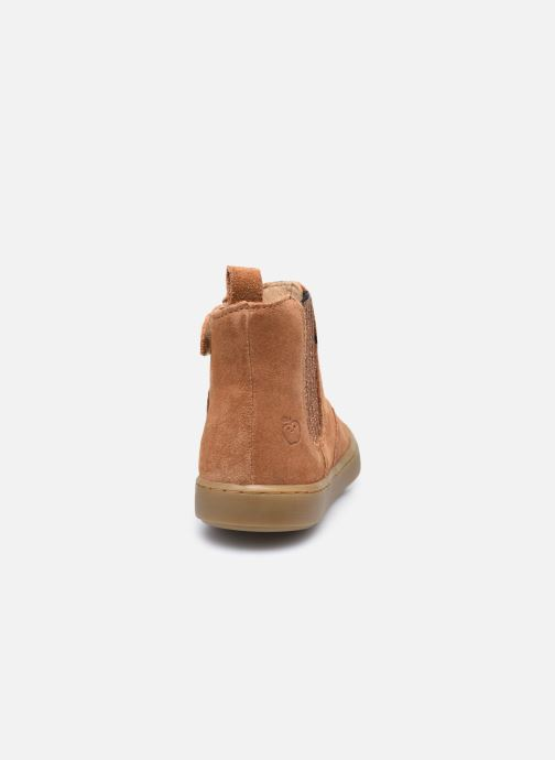 Bottines et boots Shoo Pom Play Shine Elast Marron vue droite