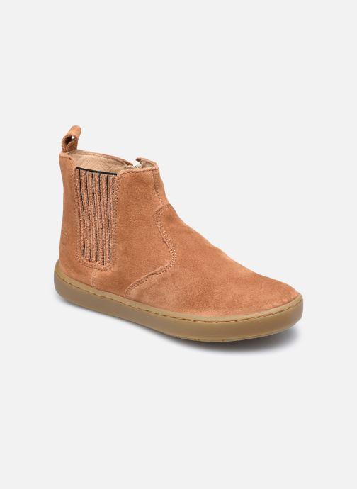 Bottines et boots Shoo Pom Play Shine Elast Marron vue détail/paire