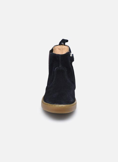 Bottines et boots Shoo Pom Play Shine Elast Bleu vue portées chaussures