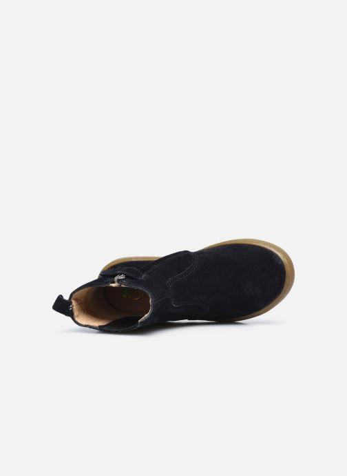 Bottines et boots Shoo Pom Play Shine Elast Bleu vue gauche