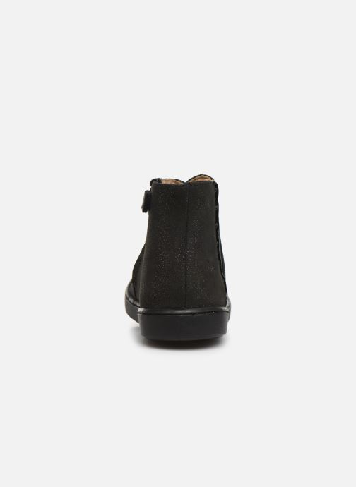Ankle boots Shoo Pom Play Hills Black view from the right