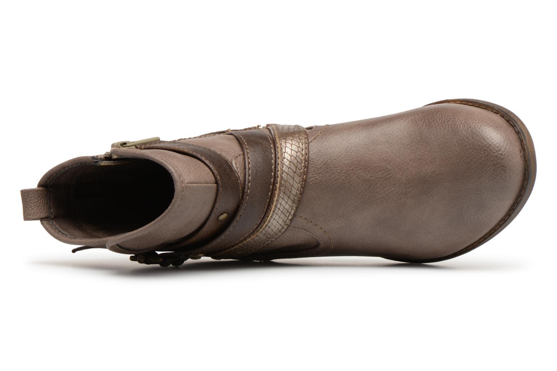 Bottines et boots Mustang shoes Tina Marron vue gauche