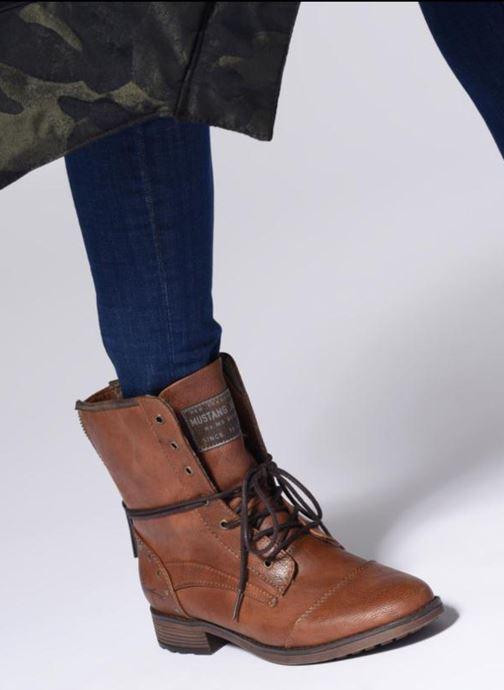 Boots en enkellaarsjes Mustang shoes Candie Bruin onder