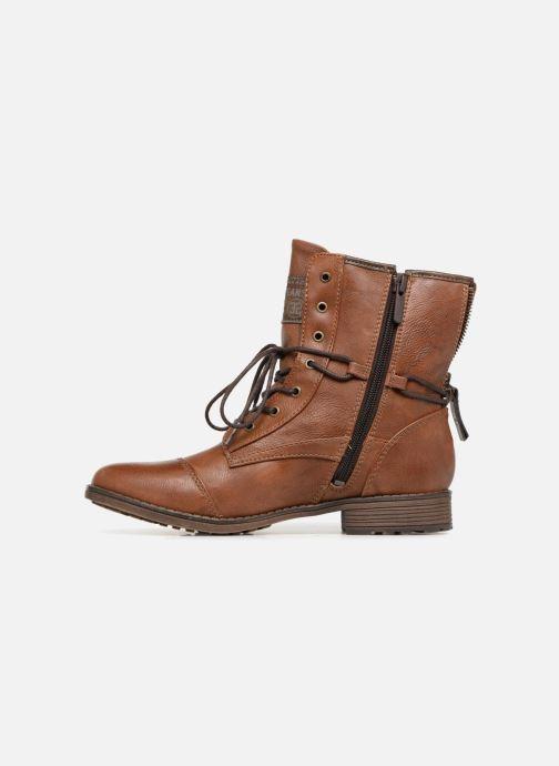 Boots en enkellaarsjes Mustang shoes Candie Bruin voorkant